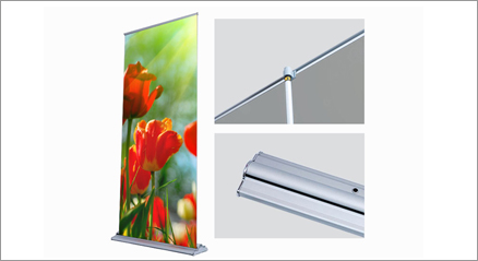 "SD Retractable - Up to 24""x92"" (Silver)"