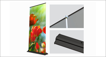 "SD Retractable - Up to 36""x92"" (Black)"