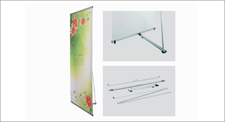 "Deluxe L-Stand 24""x79"""