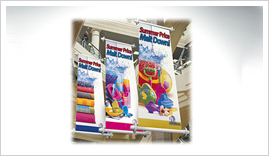 smooth indoor banners