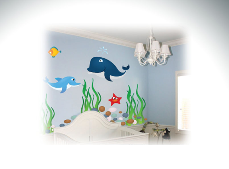 Wall Graphics (Low Tack)